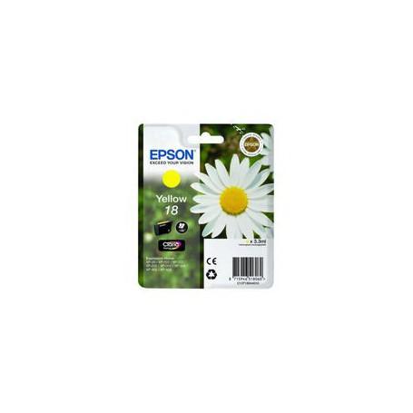 INK-JET EPSON 18 (180P.) AMARILLO C13V18044020