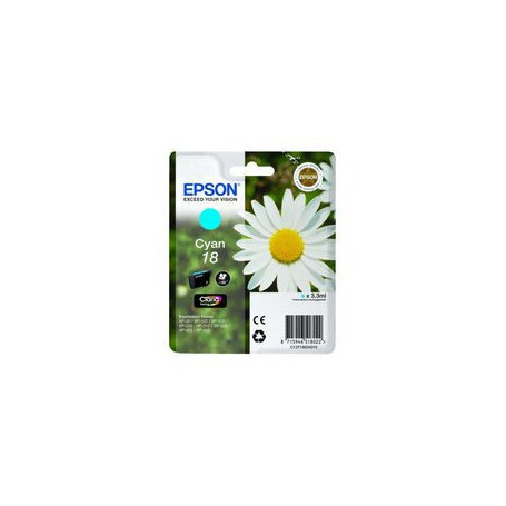 INK-JET EPSON 18 (180P.) CIAN C13V18024020