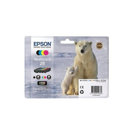 INK-JET EPSON 26 MULTIPACK C13T26164010