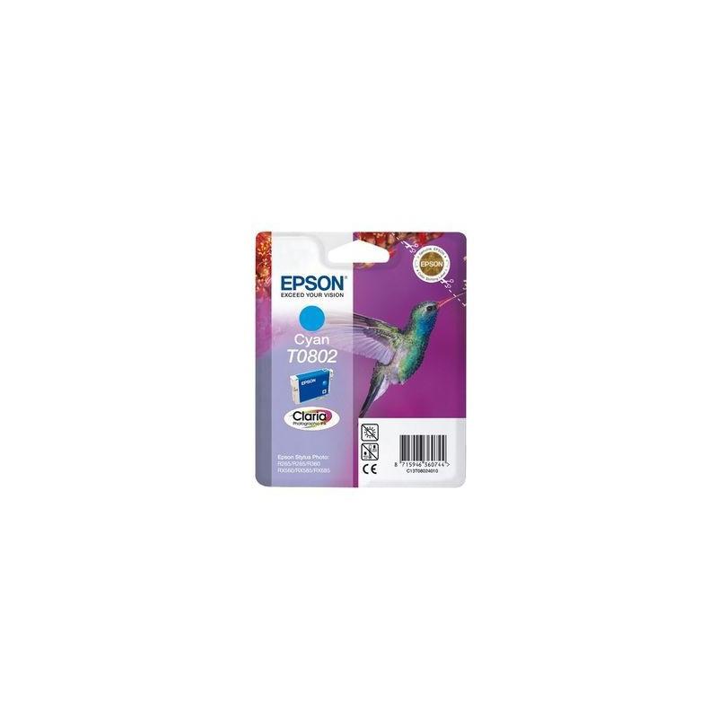 INK-JET EPSON T0802 CIAN C13T08024011