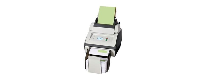 Ensobradoras, plegadoras y manipulación de papel