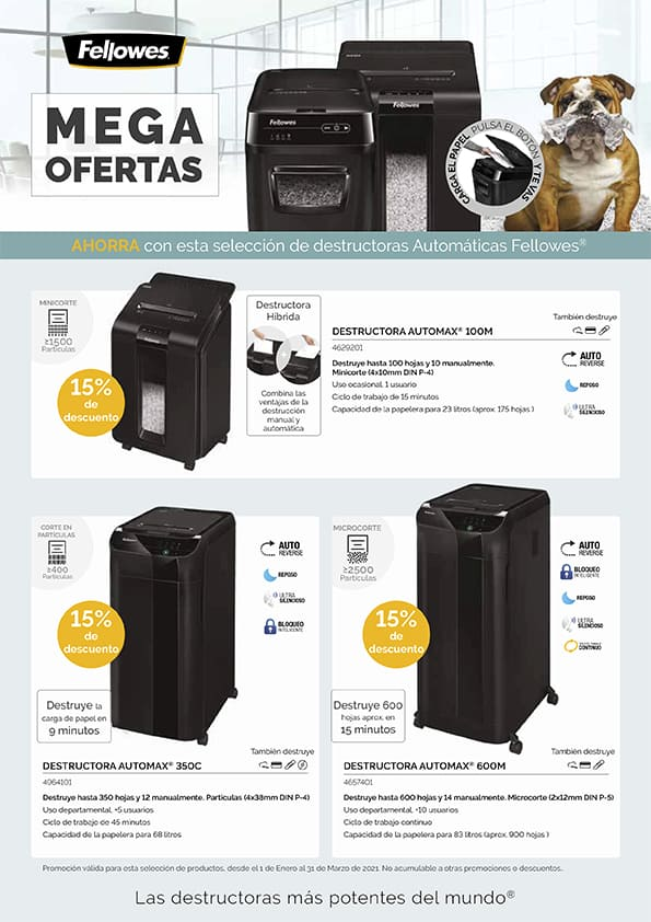 Fellowes MegaOfertas